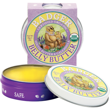 BADGER® Organic Pregnant Belly Butter