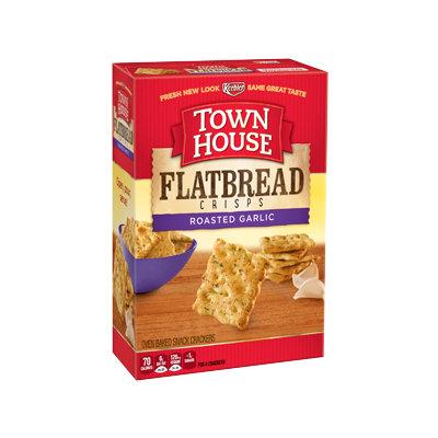 Keebler Town House Flatbread Crisps Roasted Garlic