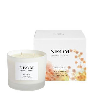 Neom Happiness 3 Wick Candle, 420g