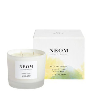 Neom Feel Refreshed 3 Wick Candle, 420g