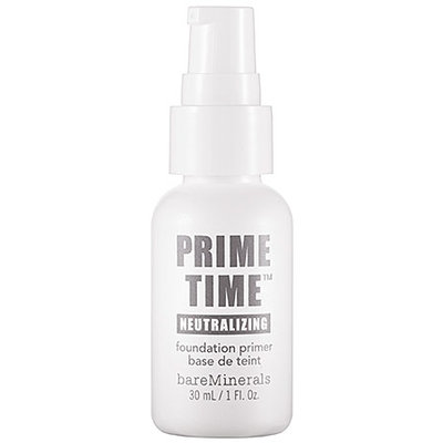 bareMinerals Prime Time® Neutralizing Foundation Primer