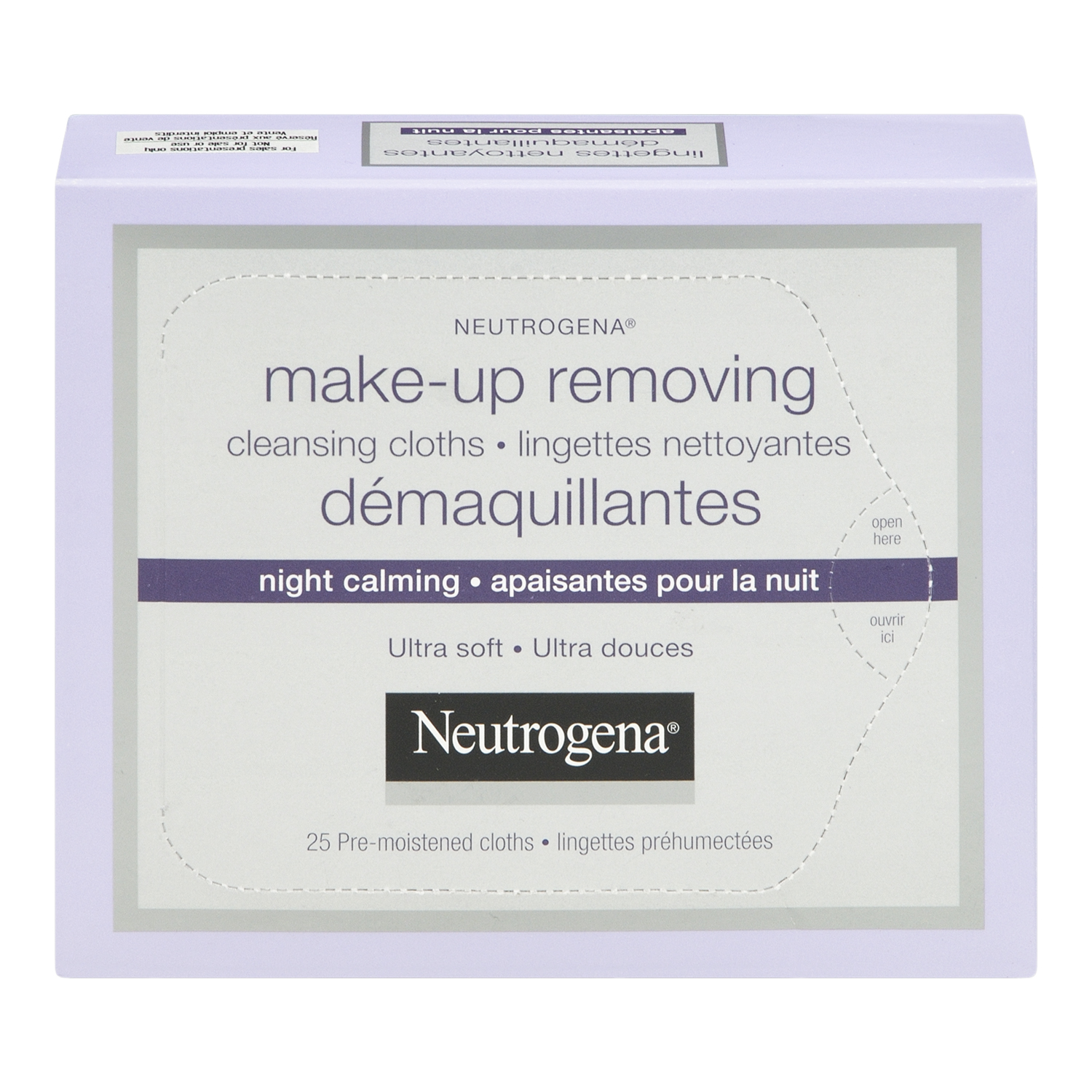 Neutrogena Cleansing Cloths Night Calming Makeup Removing