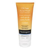 Neutrogena Oil-Free Acne Wash Cream Cleanser