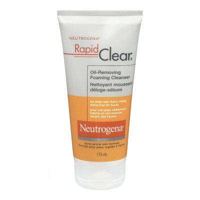 Neutrogena Rapid Clear Oil-Removing Foaming Cleanser