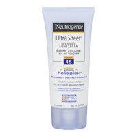 Neutrogena Ultra Sheer Dry-Touch Sunscreen, SPF 45, 88 mL