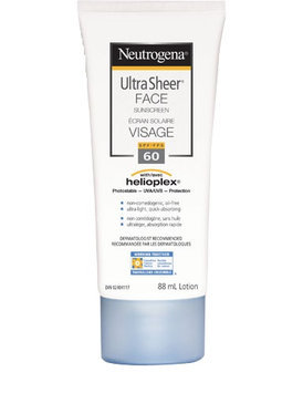 Neutrogena® Ultra Sheer Face Sunscreen SPF 60