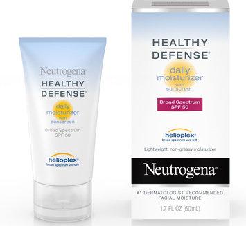 Neutrogena® Healthy Defense® Daily Moisturizer with Sunscreen Broad Spectrum SPF 50
