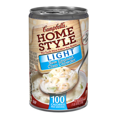 Campbell's® Homestyle Light New England Clam Chowder