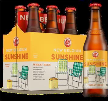 New Belgium Sunshine Wheat Beer