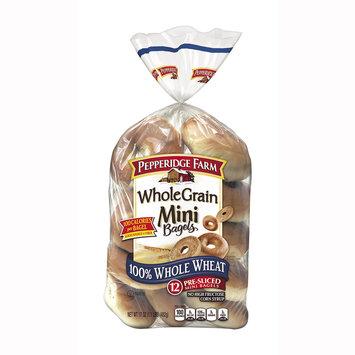 Pepperidge Farm® Whole Grain Mini Bagels