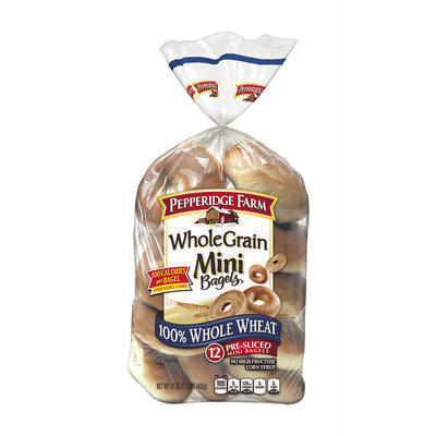 Pepperidge Farm® Whole Grain Mini Bagels