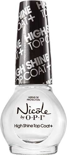 Nicole by OPI High Shine Top Coat+