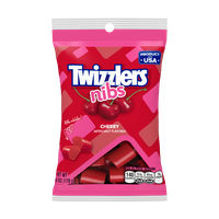 Twizzlers Candy Cherry Flavor Gummy Candy