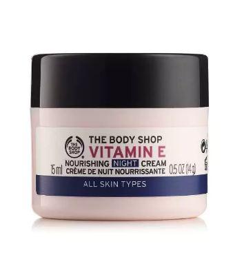 THE BODY SHOP® Vitamin E Nourishing Night Cream