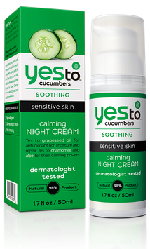Yes To Cucumbers Calming Night Cream