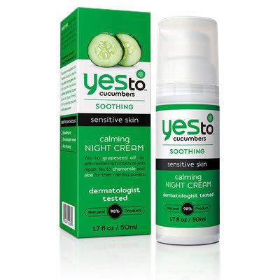 Yes To Cucumbers Calming Night Cream