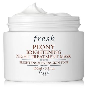 fresh Peony Brightening Night Treatment Mask