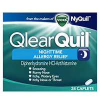 QlearQuil™ Nighttime Allergy Relief Caplets