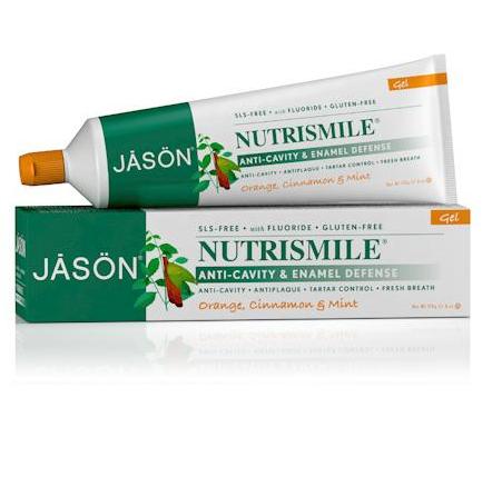 JĀSÖN Nutrismile® Enamel Defense Anti-Cavity Toothpaste Fluoride Gel