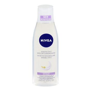 Nivea 3-in-1 Micellar Cleansing Water, Sensitive Skin, 200 mL