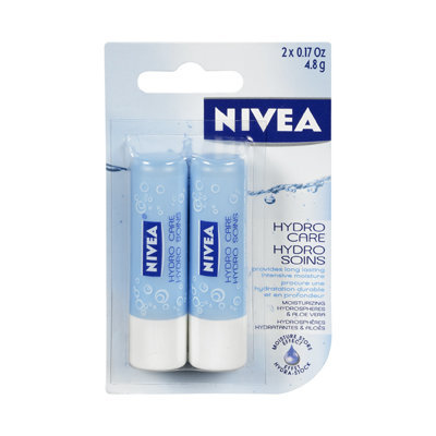 Nivea Hydro Lip Care Twinpack