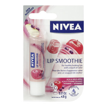 Nivea Lip Smoothie Lip Care, Acai & Wild Apple, 4.8 g