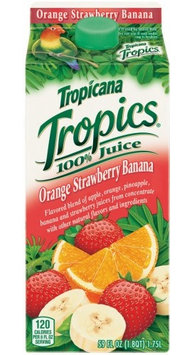 Tropicana® Tropics Orange Strawberry Banana
