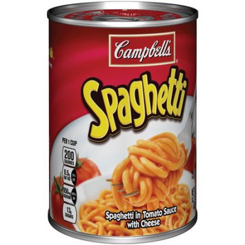 Campbell's® Spaghetti in Tomato Sauce with Cheese