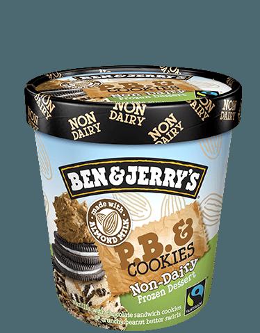 Ben & Jerry's® P.B. & Cookies Non-Dairy Frozen Dessert