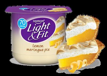 Light & Fit® Lemon Meringue Pie Nonfat Yogurt