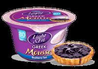 Light & Fit® Greek Blueberry Tart Nonfat Yogurt Mousse