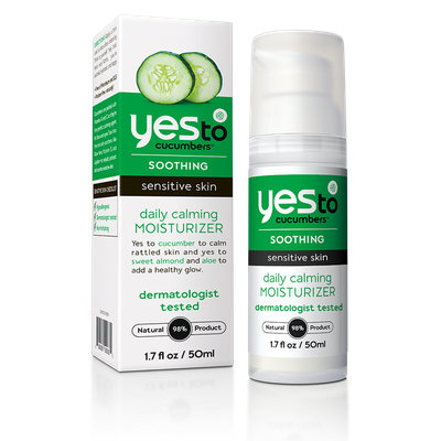 Yes to Cucumbers Soothing Daily Calming Moisturizer