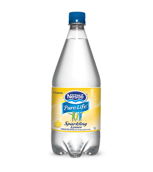 Nestlé Pure Life® Sparkling Water Lemon
