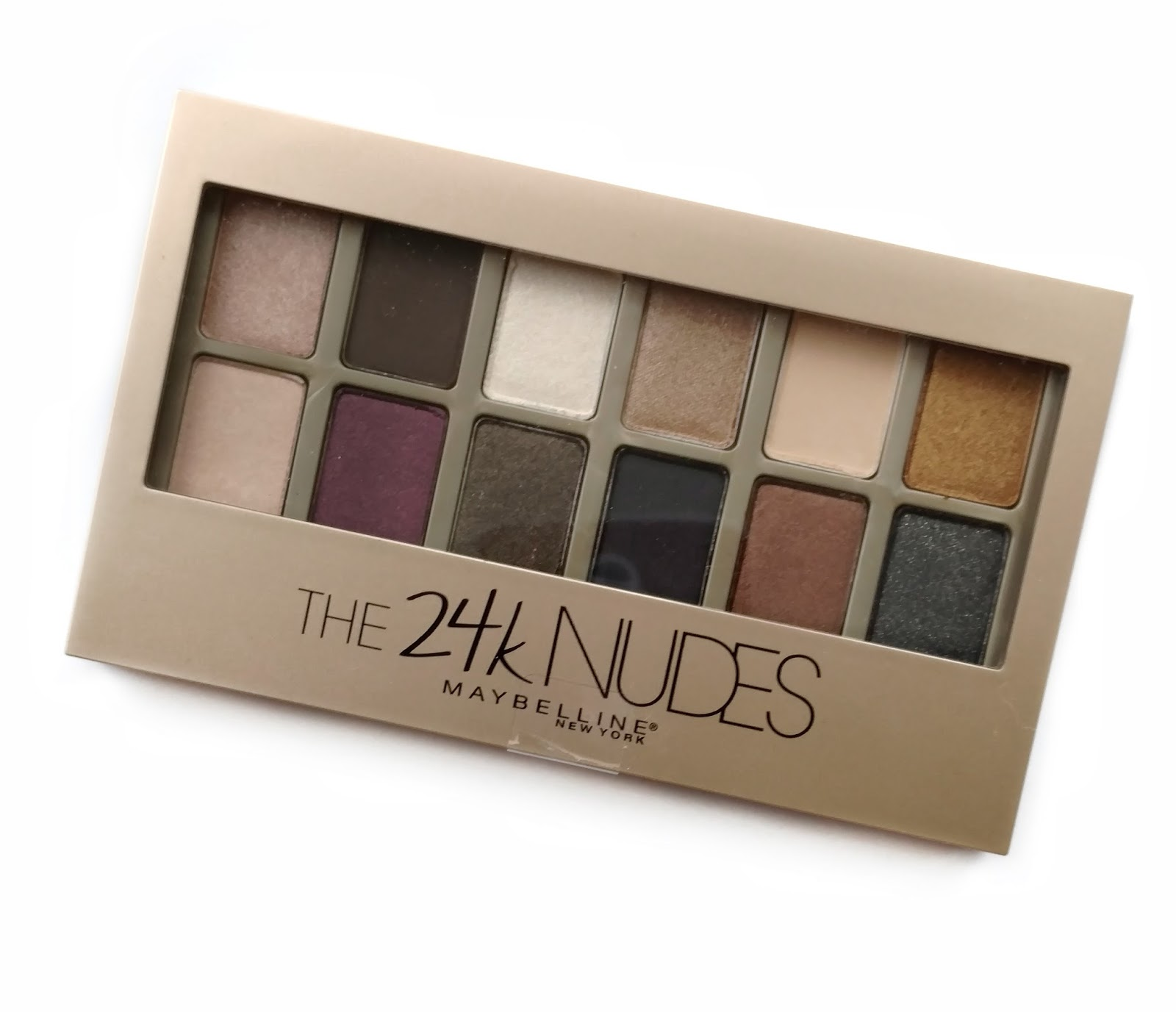 Maybelline The 24k Nudes Palette