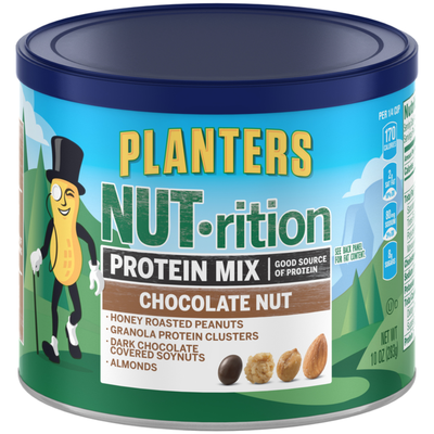 Planters Nut-rition Protein Mix Chocolate Nut Can