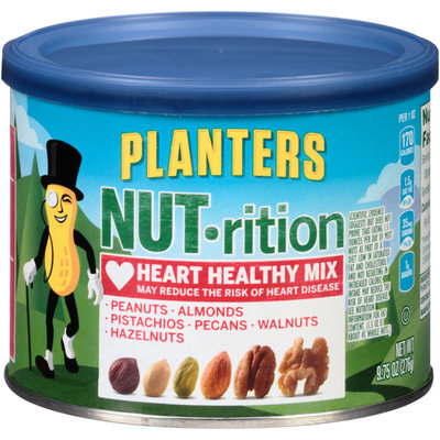 Planters Nut-rition Heart Healthy Mix Can