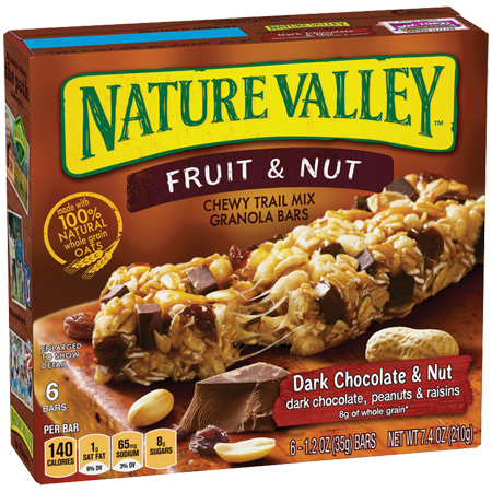 Nature Valley™ Fruit & Nut Bars Dark Chocolate & Nut