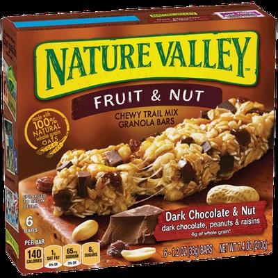 Nature Valley™ Fruit & Nut Bars Dark Chocolate & Nut