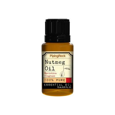 Piping Rock Nutmeg Essential Oil 1/2 oz 100% Pure Oil Therapeutic Grade