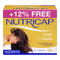 Nutricap Hair & Nails Capsules