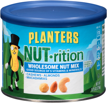 Planters Nut-rition Wholesome Nut Mix Can