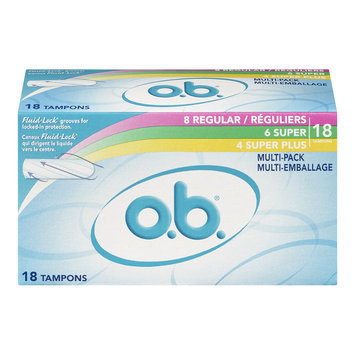 O.B. Tampons Multi-Pack