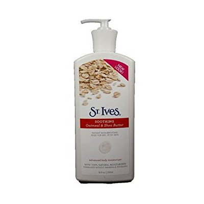 St. Ives Soothing Oatmeal & Shea Butter Advanced Body Moisturizer