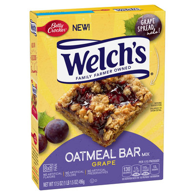 Welch's® Grape Oatmeal Bar