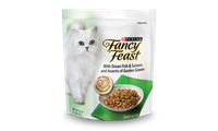 Fancy Feast® Gourmet Dry Cat Food With Ocean Fish & Salmon And Accents Of Garden Greens