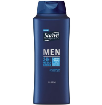 Suave® Professionals Men 2-in-1 Ocean Charge Shampoo & Conditioner