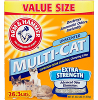 ARM & HAMMER™ Multi-cat Unscented Litter- Extra Strength