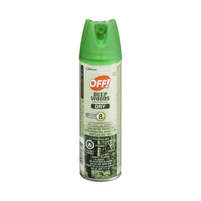 OFF! Deep Woods Dry, 25% DEET, 113 g