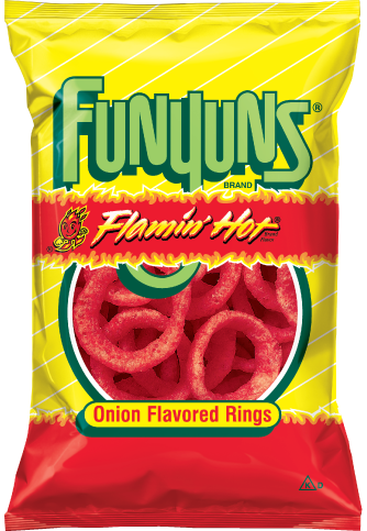FUNYUNS® FLAMIN' HOT® Flavored Onion Rings