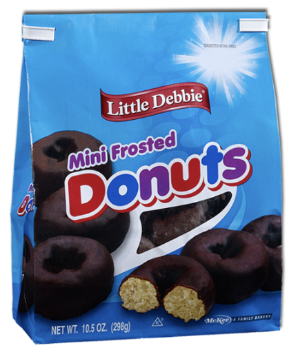 Little Debbie® Mini Frosted Donuts